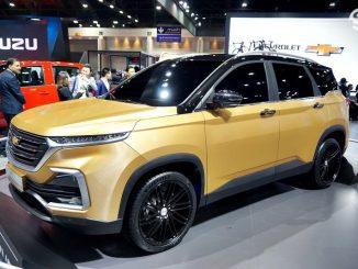 All-new Chevrolet Captiva 2019 ใหม่ถูกเผยโฉมอย่างเป็นทางการแล้วที่งาน Bangkok International Motor Show 2019