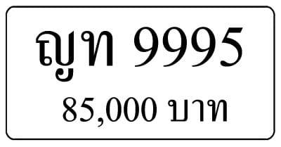ขายทะเบียน ญท 9995