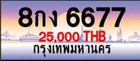 ขายทะเบียน 8กง 6677