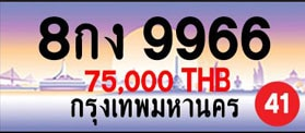 ขายทะเบียน 8กง 9966