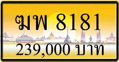 ขายทะเบียน ฆพ 8181